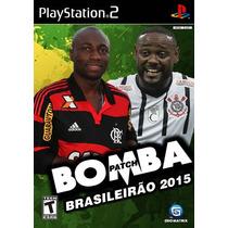 Bomba Patche Brasileirão 2015 Geomatrix