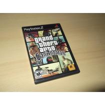 Ps2 - Grand Theft Auto San Andreas (americano)