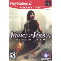 Jogo Ps2 Prince Of Persia The Sands Of Time