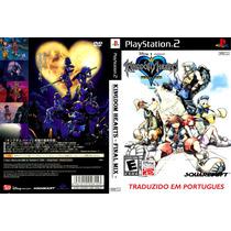 Kingdom Hearts 2 Em Portugues Para Ps2 Frete Gratis !!!!!