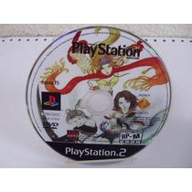 Oficial Us Playstation Magazine Disco De Demo Raro Ps2 Origi