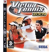 Virtua Tennis 2009 Ps3 Usado Original Midia Fisica
