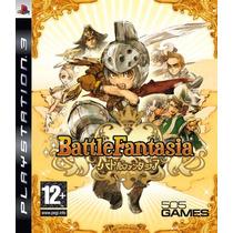 Ps3 * Battle Fantasia * Usado * Rj * Europeu