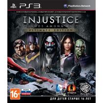 Injustice Gods Among Us Playstation 3 - Codigo Psn !!!