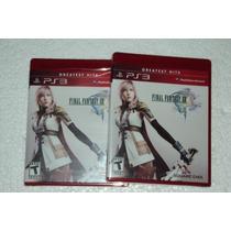 Final Fantasy 13 Xiii Ps3 Lacrado