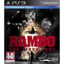 Rambo The Video Game - Lançamento - Ps3 - Codigo Psn!!
