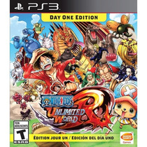 One Piece: Unlimited World Red Day 1 Edition Ps3