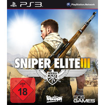 Sniper Elite 3 , Play 3 , Leg Português , Código Psn !!!