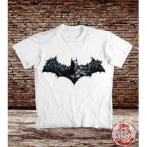 Camisetas Batman - Arkham City Asylum Origins