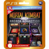 Mortal Kombat Hd Arcade Kollection! (códigos Ps3)