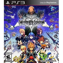 Kingdom Hearts Hd 2.5 Remixx - Jogo Para Playstation 3