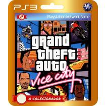 Grand Theft Auto Gta Vice City (código Ps3)