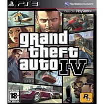 Gta Iv - Gta 4 - Grand Theft Auto - Ps3 - Código Psn