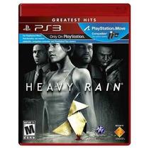 Ps3: Heavy Rain - Jogo Original E Lacrado