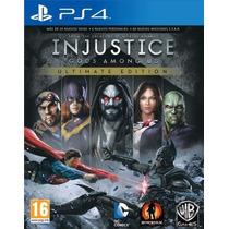 Injustice Gods Among Us Utimate Edition Ps4 Entrega Imediata