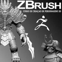 Zbrush 08 Dvds Crie Personagens Para Jogos De Video Games