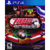 The Pinball Arcade - Jogo Playstation 4 - Mídia Física!