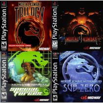 Mortal Kombat 2,3,4 ,mk Trilogy, Mk Mithologies, Patchs Psx