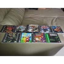Lote De Jogos Originais Americanos Para Playstation 1