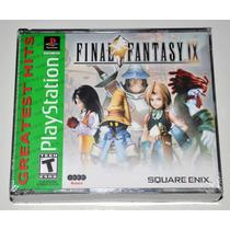 Jogo Ps1: Final Fantasy Ix 9! Lacrado! Gh! Square Enix!