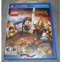 Lego The Lord Of The Rings Novo Ps Vita Senhor Dos Anéis Br