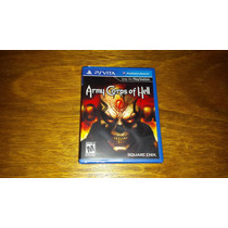 Army Corps Of Hell Original Lacrado Ps Vita Playstation