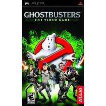 Jogo Novo Lacrado Ghostbusters The Video Game Para Psp