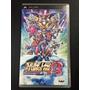 Super Robot Wars A (jap) Playstation Portable Psp Frete R$7