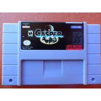 Casper - Gasparzinho Fantasma Camarada - Super Nintendo Snes