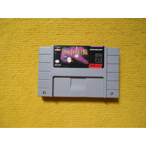 Final Fantasy 3 Original Para Super Nintendo Snes