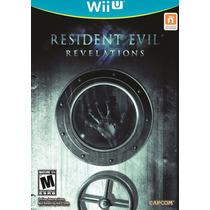 Jogo Novo Resident Evil Revelations Para Nintendo Wii U Wiiu