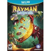 Rayman Legends Americano Lacrado P/ Wii U - Pronta Entrega