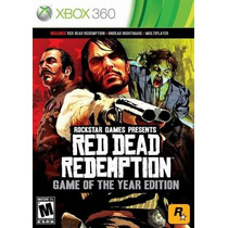 Red Dead Redemption + Undead Edition Mídifa Física Xbox360