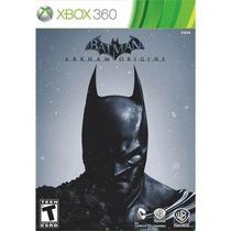 Xbox360: Batman Arkham Origins - Jogo Original Novo