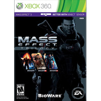Mass Effect Trilogy - Xbox 360 - Lacrado - Pronta Entrega