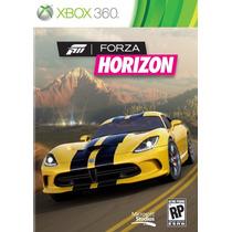 Frete Grátis - Forza Horizon Portugues Lacrado Xbox 360 Novo