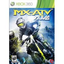 Mx Vs. Atv Alive - Xbox 360