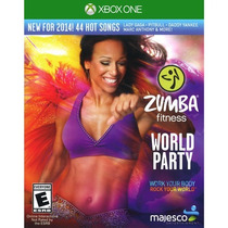 Zumba Fitness World Party - Jogo Xbox One - Dança - Kinect