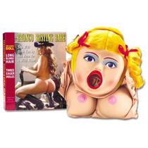 Bronco Busting Babe - Boneca Inflável Loira Com 3 Orificíos