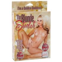 The Blonde Starlet - Boneca Inflável Loira Com 3 Orifícios