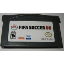 Gba: Fifa Soccer 06 Original Americano!! Muito Barato!!