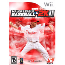 Major League Baseball 2k11 Wii Original Lacrado