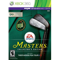Jogo Tiger Woods Pga Tour 13 Collectors Edition Xbox 360