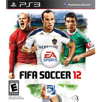 Fifa Soccer 2012 - Ps3 Original Seminovo!