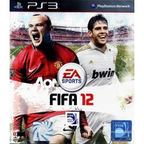 Jogo Ps3 - Fifa Soccer 2012 - Novo - Lacrado