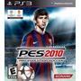 Pes 2010 Pro Evolution Soccer Ps3 Original Semi Novo