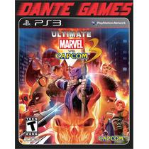 Ultimate Marvel Vs. Capcom 3 Impecável, Como Novo