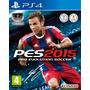 Pes 15 2015 Ps4 Português Pro Evolution Soccer Em 12x S/j