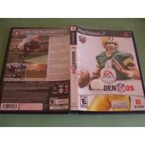Madden Nfl 09 Original Playstation 2 (ps2)
