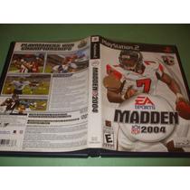 Madden Nfl 2004 Original Playstation 2 (ps2)